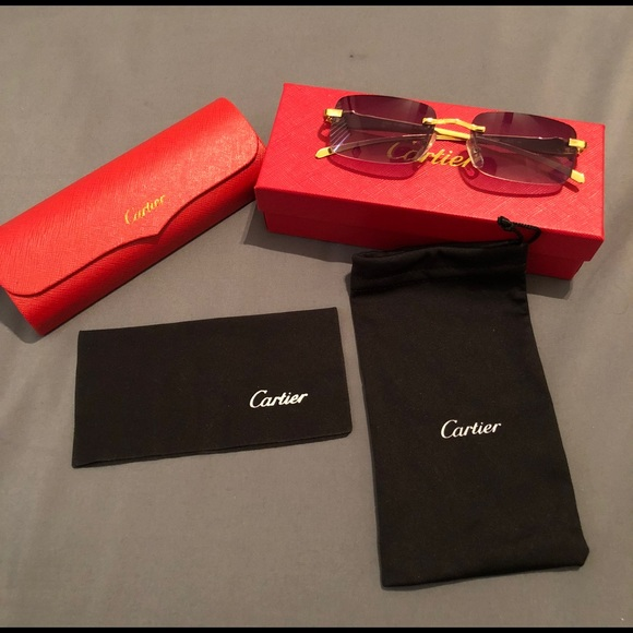 be4a2b71a755 Cartier Other - 100% Authentic Cartier Sunglasses